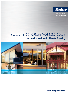 dulux powder coatings Colour Charts