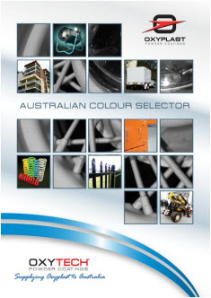 OXYTECH Powder Coating Colours Colour Charts